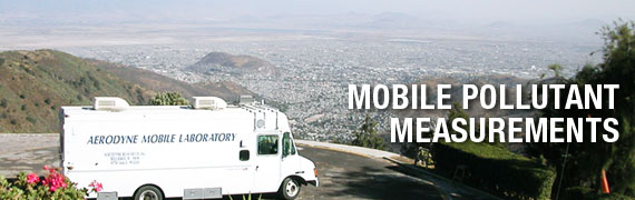Mobile Pollutant Measurements